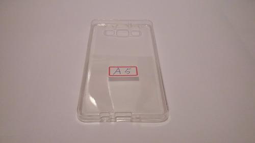 capa transparente + película vidro temperado galaxy a5 a500