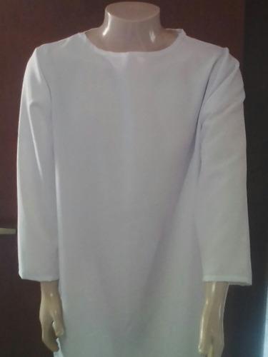 capa,  tunica, bata para batismo com 140cm comprimento