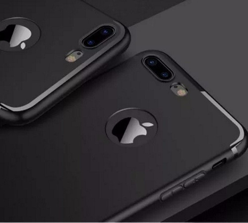 capa ultra fina celular iphone 8 / 8 plus +1 pelicula camera
