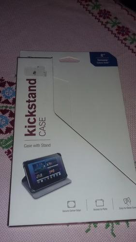 capa universal kickstand para tablet e ipad  8 polegadas
