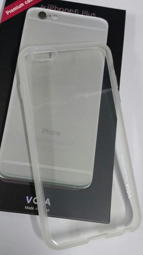 capa voia jell skin transparente iphone 6 plus -  5,5 pol.