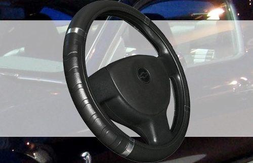 capa volante 38cm com aro cromado preta