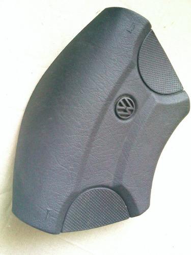 capa volante botão buzina golf 94 98 preto emblema w origina