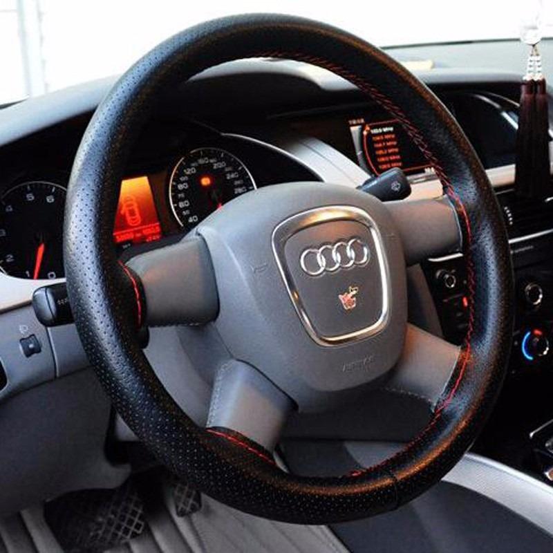 capa volante igual couro todos carros costura vermelha 1 07m r 19 00 em mercado livre. Black Bedroom Furniture Sets. Home Design Ideas