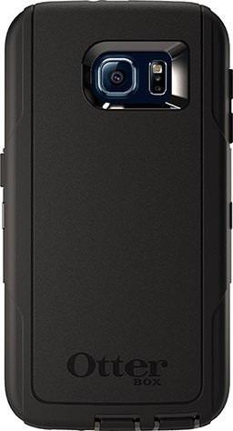 capa/case otterbox defender original galaxy s6 preto + frete