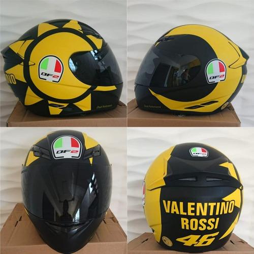 capacete 2 pecas