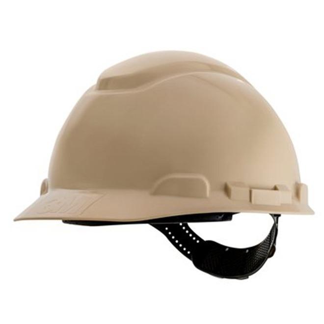 7a4f85b51786d Capacete 3m H-700 Aba Frontal Bege Ajustável Ca 29638 - R  43,11 em ...