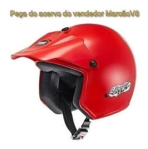 capacete aberto barato cidade pro tork liberty vermelho
