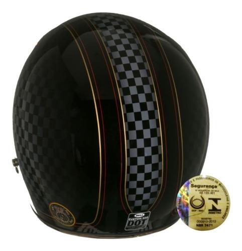 capacete aberto bell custom 500 rsd check it old school