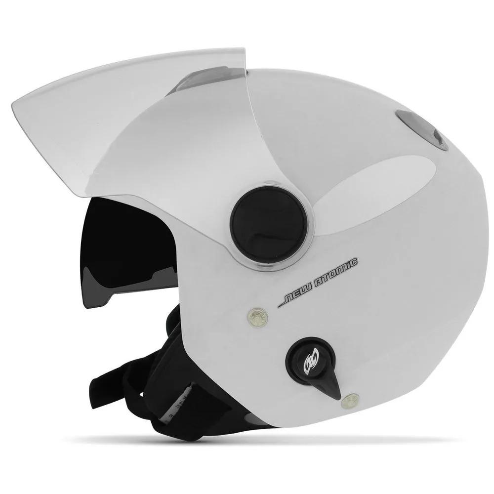 capacete aberto custom c  óculos atomic solid branco fosco. Carregando zoom. 9a5a48e292d