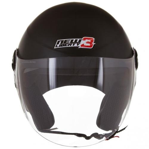 capacete aberto moto