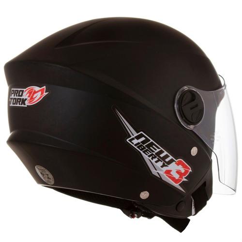 capacete aberto new liberty 3 three - compre 2 frete grátis