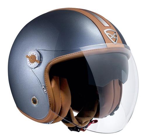 capacete aberto nexx x70 tricomposto groovy + viseira solar