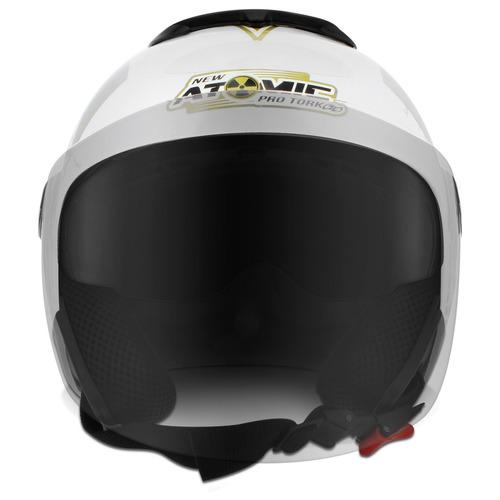 capacete aberto pro tork moto