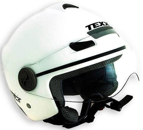 capacete aberto texx arsenal unicolor burgman dafra honda