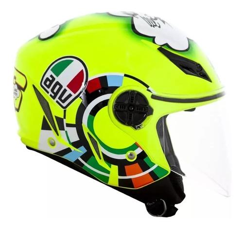 capacete agv blade misano 11 vr46 valentino original