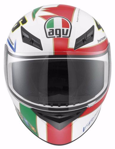 capacete agv k-3 vr46, the chicken,,icon