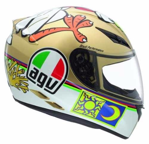 capacete agv k-3 vr46, the chicken,,icon