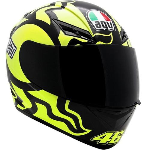 capacete agv k3 winter test 2010 valentino rossi