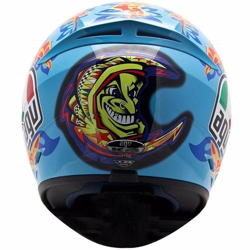 capacete agv valentino rossi mugello 2001 original