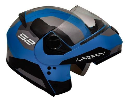 capacete articulado peels urban oculos robocop sync 2 azul