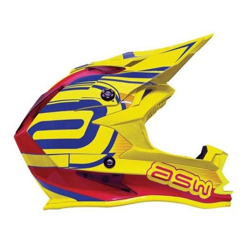 capacete asw fusion 2017 - só tamanho 58 cor fluor