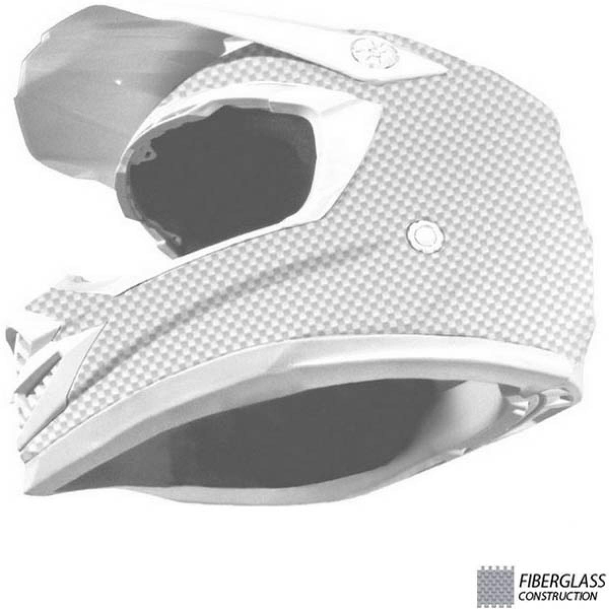 b0ca4c29b498e capacete asw podium nirvana vermelho off road. Carregando zoom.