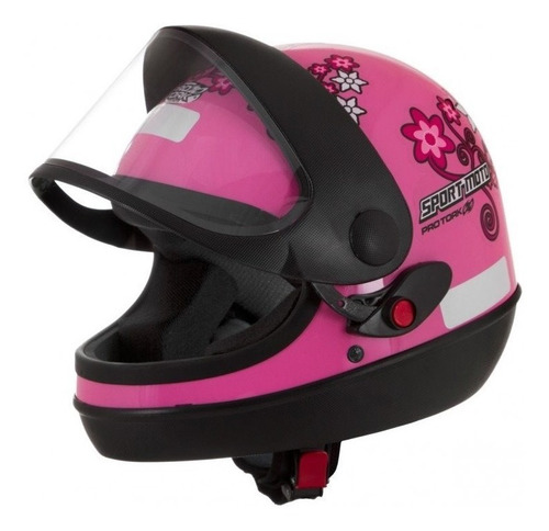 capacete automático san marino protork feminino sport moto