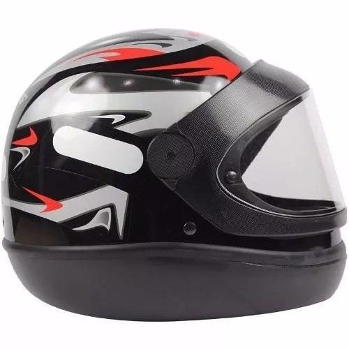 capacete automatico taurus  san marino cor preto