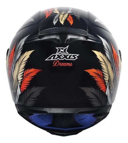 capacete axxis by mt dreams ocre brilhante novidade