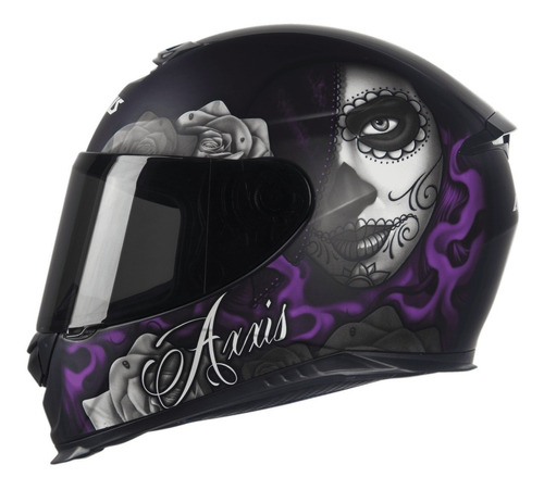 capacete axxis by mt lady catrina preto capacete moto