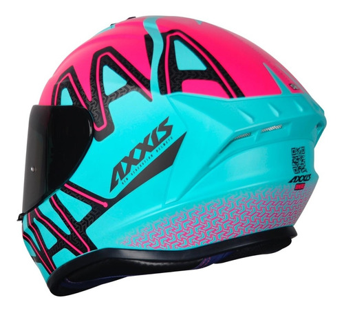 capacete axxis draken dekers fosco tiffany lançamento