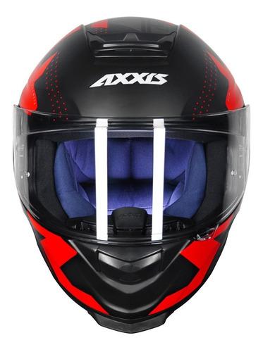 capacete axxis eagle diagon preto fosco para moto