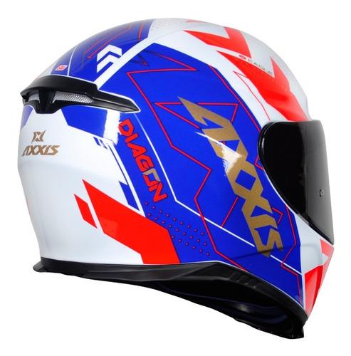 capacete axxis eagle diagon tricolor novidade