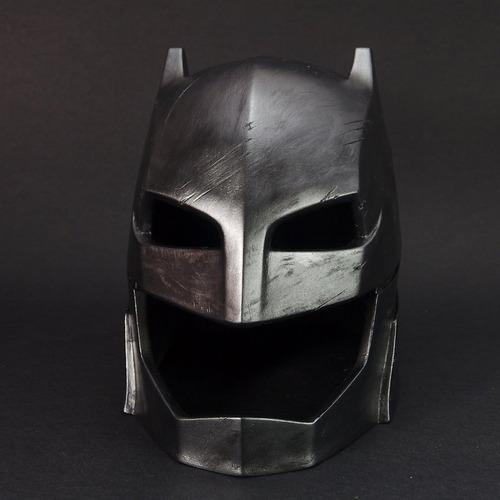 capacete batman x superman 15cm pintura idêntico ao filme