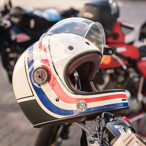 capacete bell bullitt rsd viva old school cafe 2 viseiras