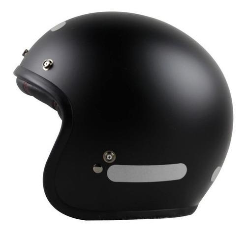 capacete bell custom 500 monocolor aberto preto fosco rs1