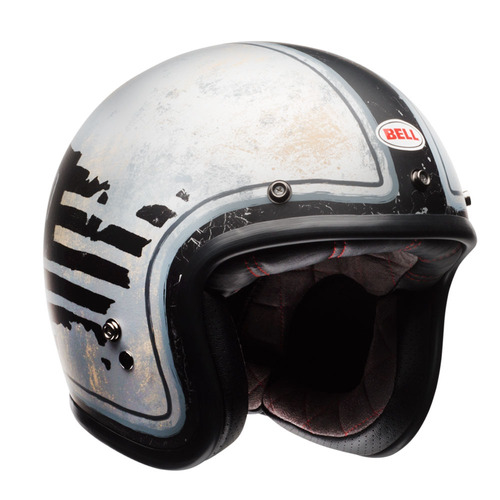 capacete bell custom500 rsd 74 preto cinza 56