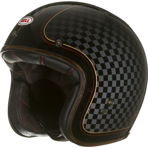 capacete bell custon 500 rsd check it roland sands+viseira