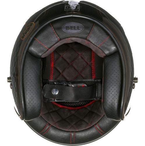 capacete bell custon 500 rsd check it roland sands+viseira