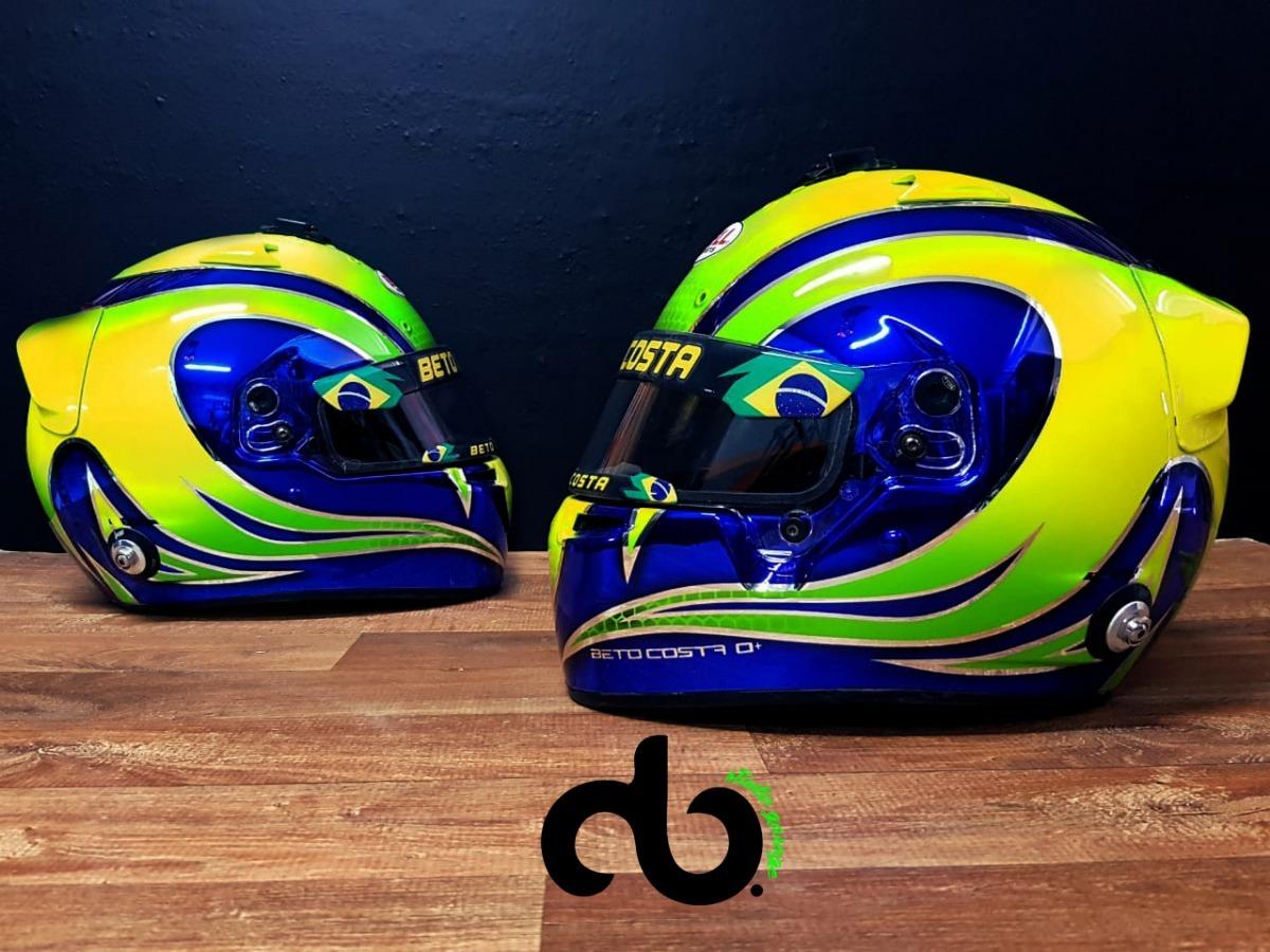 Spoiler Para Capacete Kart - Bell E Arai - R  189 5d3d7f45834