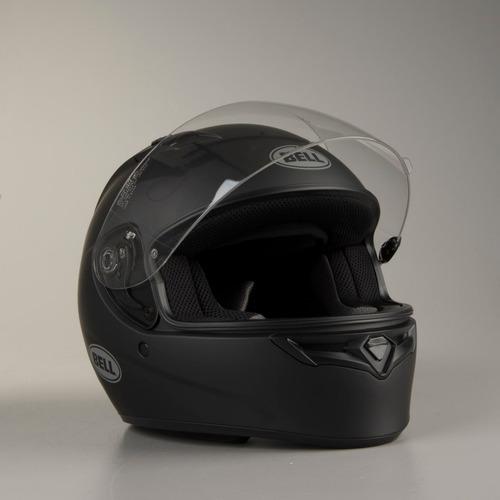 capacete bell qualifier preto fosco moto frete full