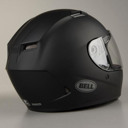 capacete bell qualifier preto fosco moto super oferta