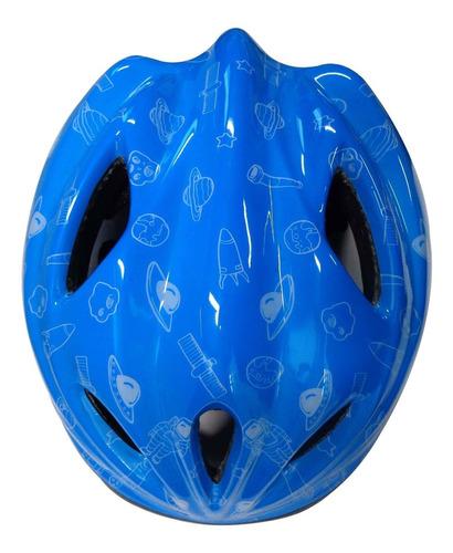 capacete bicicleta bike ciclismo kids regulável acte a50-az