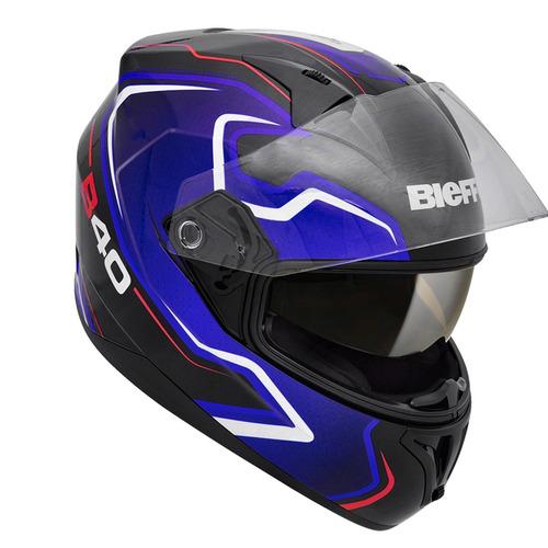 capacete bieffe b-40 tron +chaveiro e boné da marca
