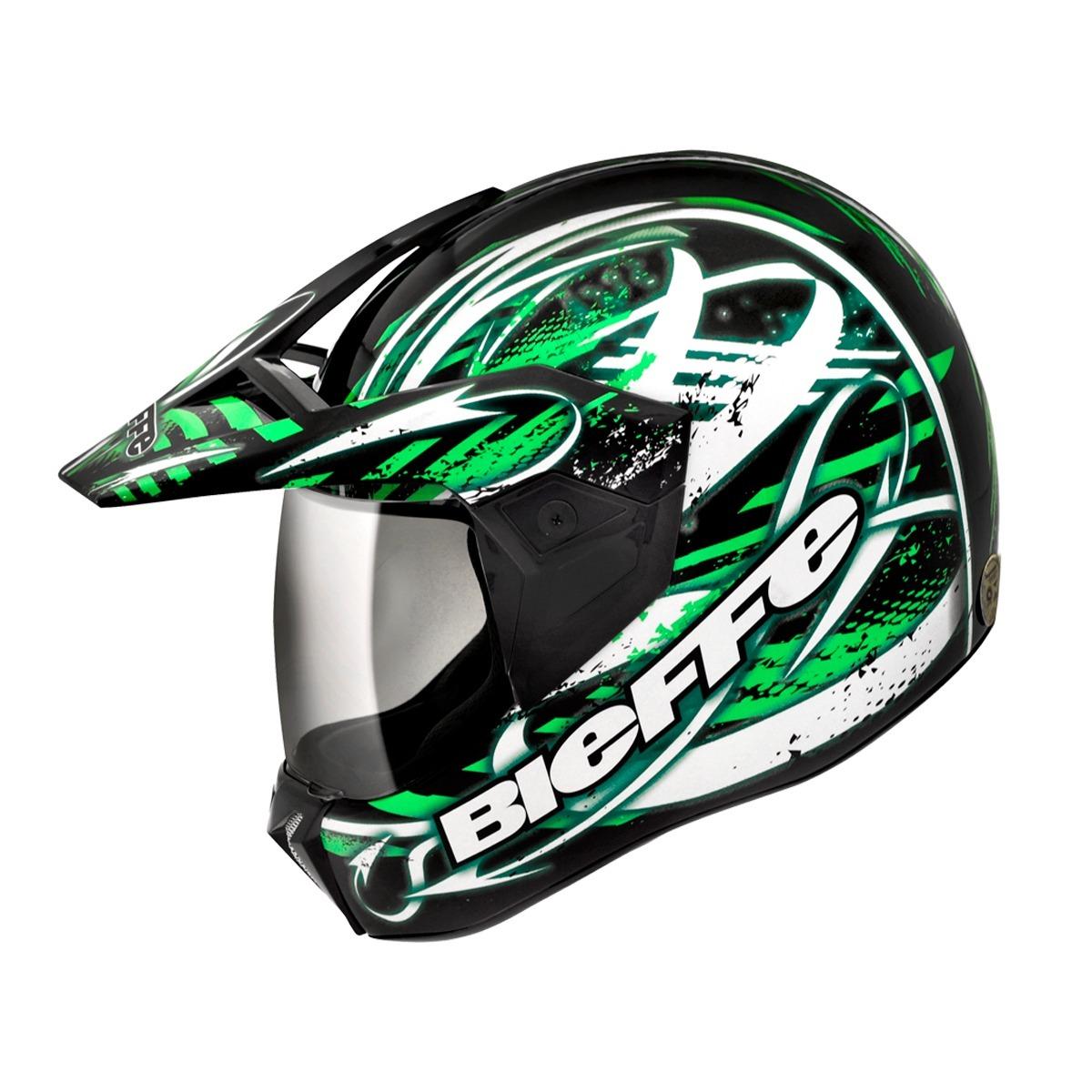 Capacete Bieffe Moto 3 Sport Reflex - R  433,51 em Mercado Livre bdefbeea89