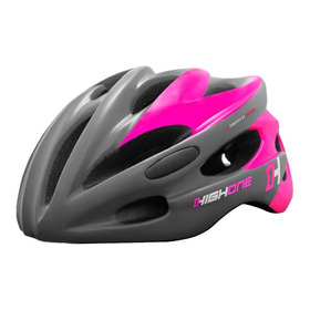Capacete Bike Mtb Ciclismo High One Volcano Feminino Rosa P