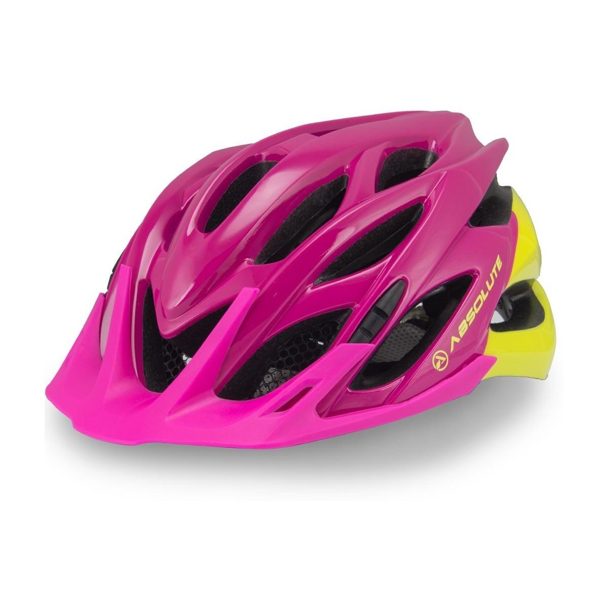 bf3c2ebd0 capacete ciclismo absolute feminino mia c  led mtb speed. Carregando zoom.
