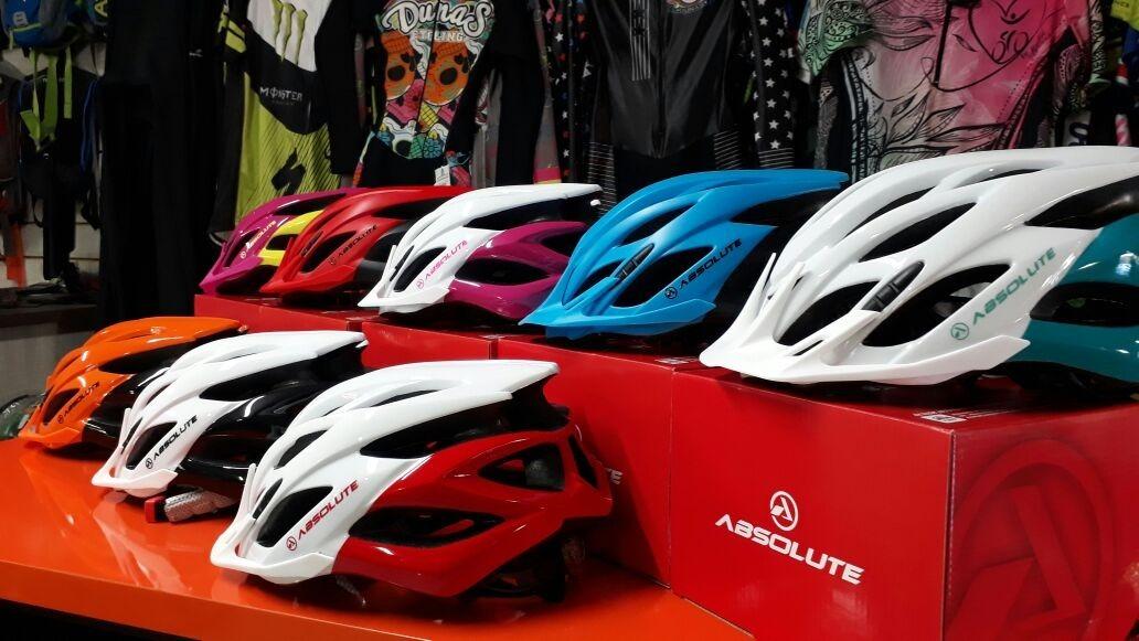 93190bc12 capacete ciclismo absolute wild c  led (promoção). Carregando zoom.