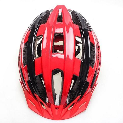 capacete ciclismo mtb giro livestrong 56-61 vermelho/preto